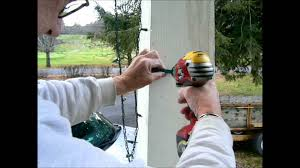 how to install christmas lights awesome how to hang christmas lights the easy way rustic u refined