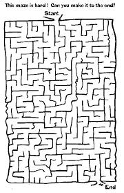 printable hard maze games free printable mazes for kids at allkidsnetwork com sopas de