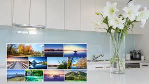 küche rückwand küchenrückwand glas bestellen glasposter