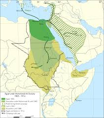 Imperialism In Africa Map by Egypt Under Muhammad Ali Dynasty Map En Png