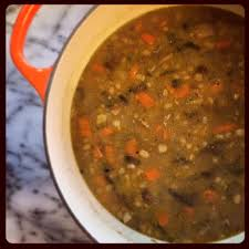 mushroom and farro soup baked northwest