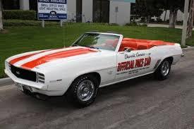 69 camaro pace car 1969 camaro pace car convertible 396 325 hp 4 speed macneish