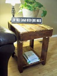 Making Wooden End Table by 202 Best Cool House Designs Images On Pinterest Home Pallet