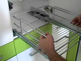 how we can set modular kitchen accessories i basket in kitchen