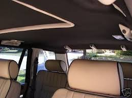 Car Roof Interior Repair 1995 2002 Land Rover Range Rover P38 Headliner Material U0026 Spray