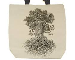 tree of tote etsy