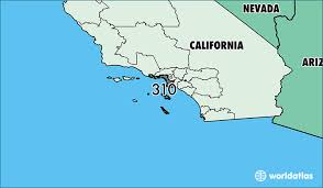 310 area code of us where is area code 310 map of area code 310 ca