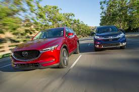 mazda america 2017 honda cr v vs 2017 mazda cx 5 comparison