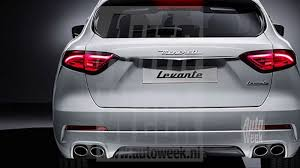 white maserati truck new maserati levante suv apparently leaked