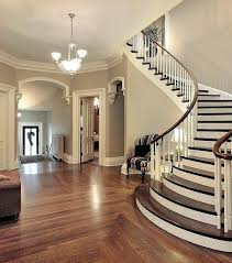 gallery curved staircase home interior desgin