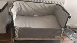 tutti bambini cozee bedside crib youtube
