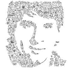 lionel messi drawings easy sketch coloring page coloring home