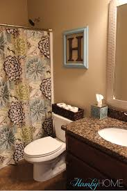 tgif house tour guest bathroom the hamby home bathroom decor