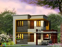 Cute House by Cute 4 Bedroom Modern House 1670 Sq Ft Kerala Home Design And