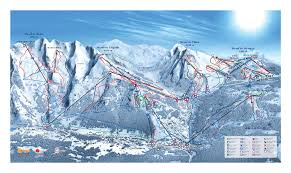 Mt Snow Trail Map La Clusaz Piste Map Trail Map