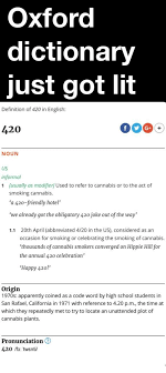 Meme Dictionary Definition - oxford dictionary just got lit definition of 420 in english 420