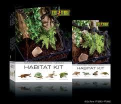 exo terra habitat kit rainforest starter kit