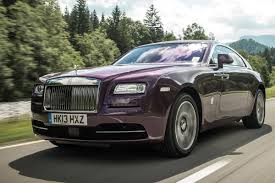 purple rolls royce rolls royce wraith review auto express