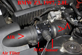 bmw maf sensor bmw x5 mass air flow maf sensor cleaning