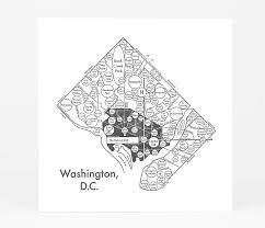 Maps Of Washington Dc by Archie U0027s Press Circle Map Of Washington D C At Buyolympia Com