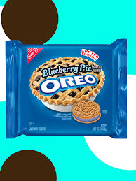 new oreo cookie blueberry pie fruity crisp flavors