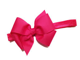 pink headbands you color baby headband baby bow headband baby