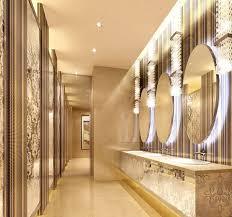 five star hotel public toilet interior design picture