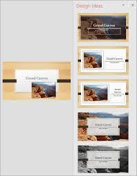 design powerpoint about powerpoint designer office support