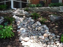 amazing dry river bed garden as your landscaping design river
