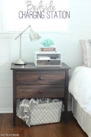 bedside charging station diy playbook