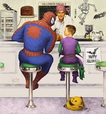 spirit halloween spiderman rockwell spiderman by lukeradl on deviantart