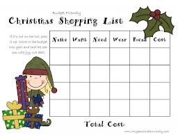 christmas gift shopping list christmas on a budget the 4 gift rule only curiosity
