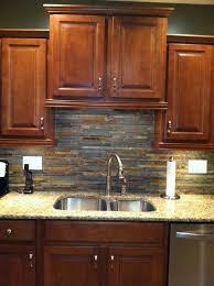slate backsplash kitchen slate backsplash ideas for the kitchen my web value