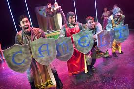a belly full of laughter epac presents u0027monty python u0027s spamalot