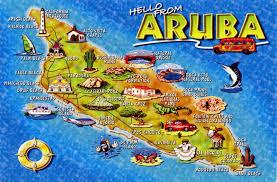 Palm Beach State Map Map Of Aruba Aruba Maps Maps Of Aruba Aruba Map Aruba Maps