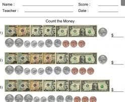Counting Coins Worksheet Generator Count The Worksheet Generator Educational Resources And More