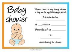 free baby shower invites theruntime