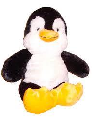 build a unstuffed unstuffed penguin black white plush build stuff your own animal ebay