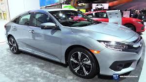 Honda Civic India Interior 2017 Honda Civic Touring Exterior And Interior Walkaround 2017