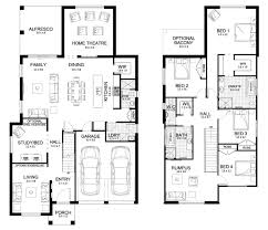 floor plans sydney new home builders infinity 37 double storey home designs