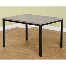 Western Dining Room Tables by Jaxx Collection Dining Table Black Gray Walmart Com
