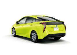 toyota limo thermo tect lime green prius 2 the news wheel