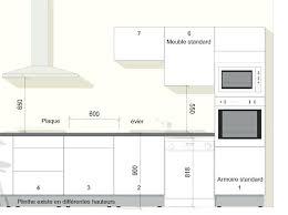 meuble cuisine dimension beau hauteur bar cuisine dimension table standard plan de travail