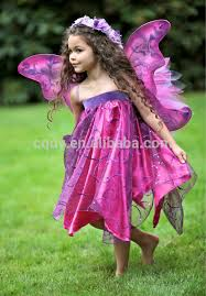 Halloween Costumes 6 Girls 2014 Ultra Modern Fairy Flower Dress Butterfly Wings