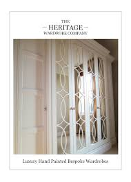 Luxury Fitted Bedroom Furniture The Heritage Wardrobe Company Provide Traditinally Inspired Fitted