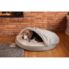 Hooded Dog Bed Cozy Cave Dog Bed Korrectkritterscom