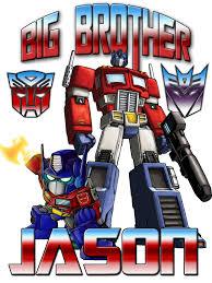 optimus prime birthday personalized custom name t shirt big transformers optimus
