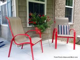 Paint For Metal Patio Furniture How To Spray Paint Outdoor Chairs Hometalk