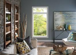 natural chic living room pella 250 series windows pella photo