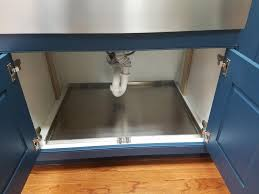 kitchen sink cabinet tray stainless steel sink base tray